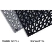 """Modular Drainage Carbide Grit Tile 12"""" X 12"""" 36 Per Case"""