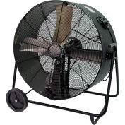 "TPI 36"" Portable Blower Fan Belt Drive Swivel Base PBS-36B 1/2 HP 14500 CFM"