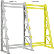 "Reel Rack Add-On Unit 48""W x 24""D x 120""H"