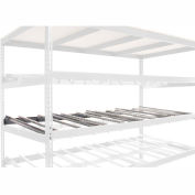 """Global Industrial™ Gravity Flow Carton Rack Additional Level 96""""W x 48""""D"""