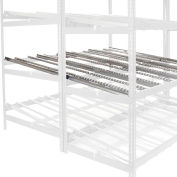 """Global Industrial™ Gravity Flow Carton Rack Additional Level 96""""W x 72""""D"""
