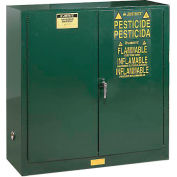 Pesticide Cabinet Self Close Double Door 30 Gallon