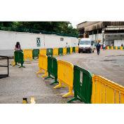 MOVIT® Interlocking Plastic Barricade, Yellow