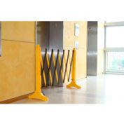 Xpandit® Expandable Barricade, Yellow & Black