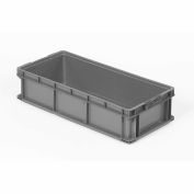 ORBIS Stakpak SO3215-7 Plastic Long Stacking Container 32 x 15 x 7-1/2 Gray