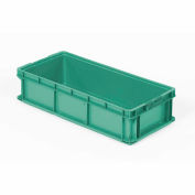 ORBIS Stakpak SO3215-7 Plastic Long Stacking Container 32 x 15 x 7-1/2 Green