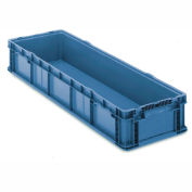 ORBIS Stakpak NXO4815-7 Plastic Long Stacking Container 48 x 15 x 7-1/2 Blue