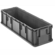 ORBIS Stakpak SO4815-11 Plastic Long Stacking Container 48 x 15 x 10-3/4 Gray