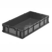 ORBIS Stakpak SO4822-7 Plastic Long Stacking Container 48 x 22-1/2 x 7-1/4 Gray