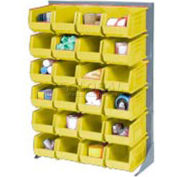 Single-Sided Floor Rack With 58 Bins