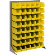 Floor Rack With 12 Akrobins 36x50