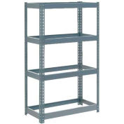 """Extra Heavy Duty Shelving 36""""W x 24""""D x 72""""H With 4 Shelves, No Deck"""