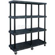 SPC Dura-Shelf® Truck MDS6624X4 4 Shelves 900 Lb. Cap.