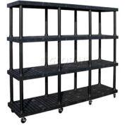 SPC Dura-Shelf® Truck MDS9624X4 4 Shelves 1200 Lb. Cap.