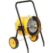 TPI Fostoria Salamander Heater Portable Electric Heat Wave™ FES-1524-1A - 15KW 240V 1 Phase