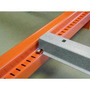 "48""D Roll-In Cross Bar Interlake Mecalux Pallet Rack"