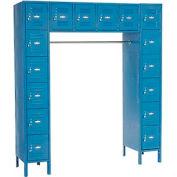 Infinity™ 16 Person Locker 12 X 18 X 12 Assembled Blue