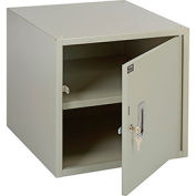 """Storage Workbench Cabinet 17-1/4""""W x 20""""D x 16""""H - Tan"""