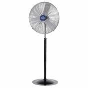 "Global Industrial™ 30"" Deluxe Industrial Pedestal Fan - Oscillating - 10000 CFM - 1/2 HP"