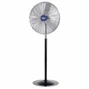 "Global Industrial™ 30"" Deluxe Industrial Oscillating Pedestal Fan, 10000 CFM, 1/2 HP"