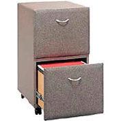 Two Drawer File in Pewter - Modular Office Furniture