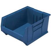 Quantum Hulk Plastic Stacking Bin QUS975BL 18-1/4 x 29-7/8 x 12 Blue