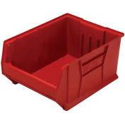 Quantum Hulk Plastic Stacking Bin QUS975RD 18-1/4 x 29-7/8 x 12 Red