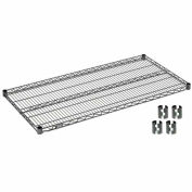 "Nexel S2436N Nexelon Wire Shelf 36""W x 24""D with Clips"