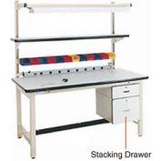 """6""""H Lockable Stacking Drawer"""