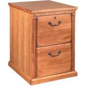 2 Drawer Vertical File for Huntington Office Furniture - Medium Oak