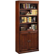 Bookcase with Doors for Huntington Office Furniture - Cherry