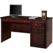 Deluxe Computer Desk for Huntington Office Furniture - Cherry