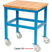 "Optional 4"" Caster Kit for Shop Stands"