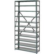 Global Industrial™ Steel Open Shelving 6 Shelves No Bin - 36x12x39