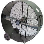 "TPI 48"" Portable Blower Fan Direct Drive PB48-D-OP 3/4 HP 17300 CFM"