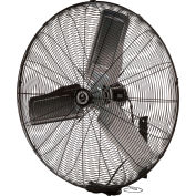 "TPI 24"" Wall Mount Fan, Non Oscillating CACU 24-W 1/4 HP 5,400 CFM 1 PH"