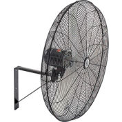 "TPI 30"" Wall Mount Fan, Non Oscillating CACU 30-W 1/4 HP 6,000 CFM 1 PH"