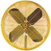 TPI HDH30,30 Inch Fan Head Non Oscillating Yellow 1/2 HP 6800 CFM