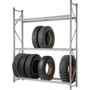 """Truck Tire Rack 3 Tier Starter 72""""W x 24""""D x 120""""H"""