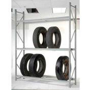 """Truck Tire Rack 3 Tier Starter 96""""W x 24""""D x 120""""H"""