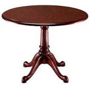 "Flexsteel 48"" Round Conference Table - Mahogany - Governors Series"