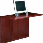 42 Inch Flush Bridge in Mahogany - Executive Modular Furniture