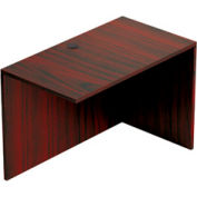 Reversible 42 Inch Return in Mahogany - Executive Modular Furniture