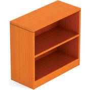 1 Shelf Bookcase in Medium Cherry - Executive Modular Furniture