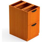 2 Drawer Pedestal in Medium Cherry - Executive Modular Furniture