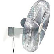 TPI 24 Wall Mount Fan 1/4 HP 8000 CFM 1 PH Explosion Proof Motor
