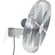 TPI AC24-EX1-W, 24 Inch Wall Mount Fan 1/4 HP 4300 CFM 1 PH Explosion Proof Motor