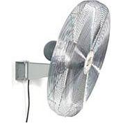 "TPI 30"" Wall Mount Fan 1/3 HP 8,200 CFM 1 Phase 277V Totally Enclosed Motor"