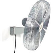 "TPI 30"" Washdown Rated Wall Mount Fan 1/3 HP 9350 CFM"
