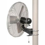 TPI 30 Washdown Rated Pole Mount Fan 1/3 HP 9350 CFM